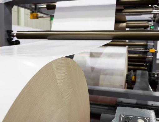 industria de papel e celulose