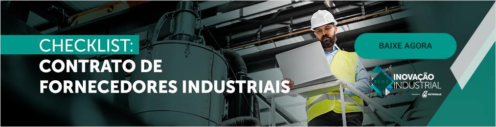 Checklist: Contrato de fornecedores industriais
