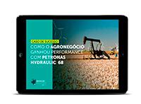 Como o agronegócio ganhou performance com PETRONAS Hydraulic 68