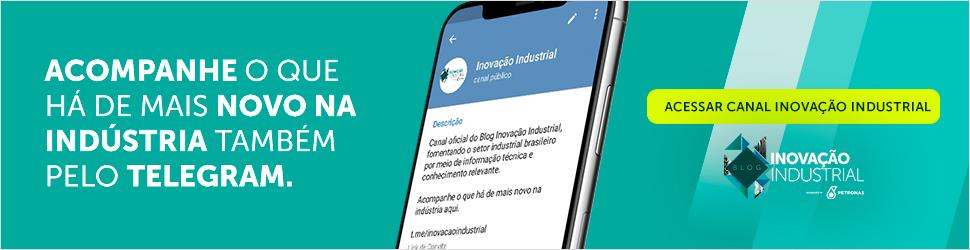 Acompanhe o que há de novo na industria também pelo Telegram