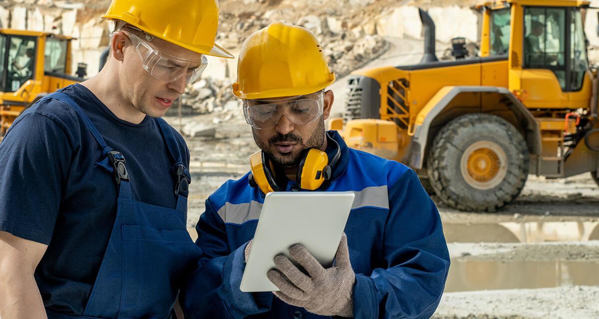 profissional de compras na mineração
